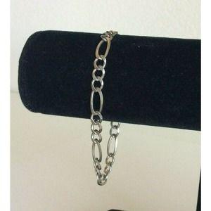 Vintage Milor 925 Sterling Silver Chain Bracelet